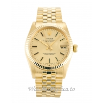 Rolex Mid-Size Datejust Champagne Dial 6827-30 MM
