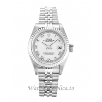 Rolex Datejust Lady White Dial 79174 25MM