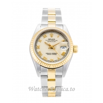 Rolex Datejust Lady Ivory Dial 69173 26MM