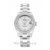 Rolex Datejust Lady Silver Dial 179384 26MM
