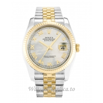 Rolex Datejust Mother of Pearl   White Dial 116233 36MM