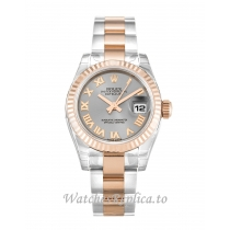 Rolex Datejust Lady Rhodium Dial 179171 26MM