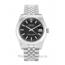 Rolex Datejust Lady Black Dial 178240 31MM