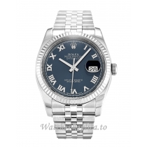 Rolex Datejust Blue Dial 116234-36 MM