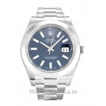 Rolex Datejust II Blue Dial 116300 41MM