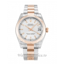 Rolex Mid Size Datejust Silver Dial 178271 31MM