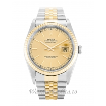 Rolex Datejust Champagne Dial 16233 36MM