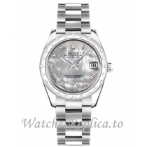 Rolex Datejust Fake 178344-0027 Stainless Steel Strap 31mm