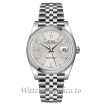 Fake Rolex Datejust 126200-0001 Stainless Steel Strap 36mm