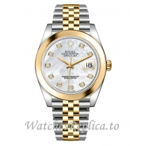 Rolex Datejust Replica 126303-0018 Yellow Gold With Stainless Steel Strap 41mm