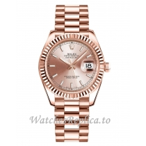 Replica Rolex Datejust 178275 Women's Pink Dial 31MM