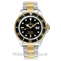 Rolex Submariner Replica 16613LN Black Dial 40mm