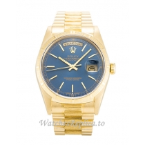 Rolex Day-Date Blue Dial 18248-36 MM