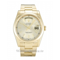 Rolex Day Date Champagne Dia 118208 36MM
