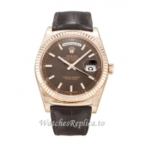 Rolex Day Date Chocolate Dia 118135 36MM