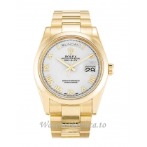 Rolex Day Date White Dia 118208 36MM
