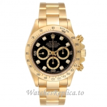 Replica Rolex Daytona Yellow Gold 16528 40MM