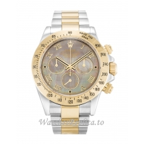 Rolex Daytona Mother of Pearl   Black Dial 116523 40MM