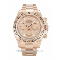 Rolex Daytona Rose Dial 116505 40MM