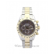 Rolex Daytona Dark brown Dial 116523 40MM