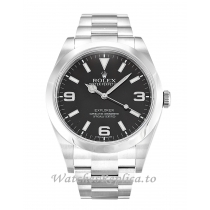 Rolex Explorer Black Dial 214270-39 MM