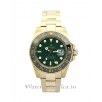 Rolex GMT Master II Green Dial 116718 LN-40 MM