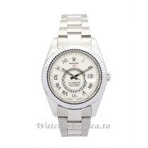 Rolex Sky Dweller White Dial 326938 42MM