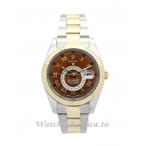 Rolex Sky Dweller Brown Dial 326938 42MM