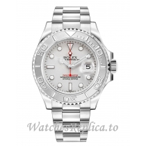 Replica Rolex Yacht-Master 16622 Silver Dial Men's Watch 40MM