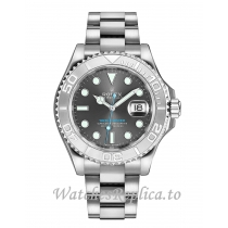 Fake Rolex Yacht Master 268622-0002 Rhodium Dial 37mm