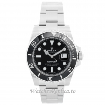 Rolex Submariner Replica Watch Black Dial 116610 LN 40MM