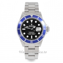 Rolex Submariner Replica Blue Ceramic Bezel 16610 40MM