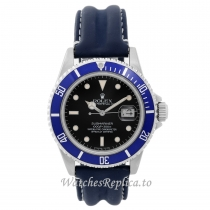 Rolex Submariner Replica Watch Rubber Strap 16610 40MM