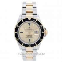 Rolex Submariner Replica Watch Black Ceramic Bezel 16613 40MM