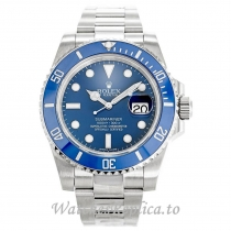 Rolex Submariner Blue Dial 116619LB 40MM