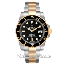 Replica Rolex Submariner Watch Black Dial 116613 40MM