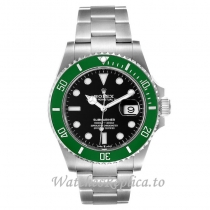 Replica Rolex Submariner Watch Green Dial 126610lv 41MM