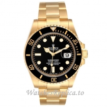 Replica Rolex Submariner Yellow Gold 126618 41MM