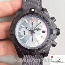 Swiss Breitling Avenger II USA Military Limited Edition Replica M13371BU Black Bezel 45MM