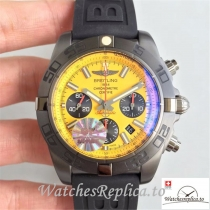 Swiss Breitling Chronomat Blacksteel Replica MB0111C3/I531/262S/M20DSA.2 Black Strap 44MM