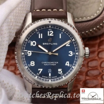 Swiss Breitling Navitimer 08 Replica A17314101C1X1 Brown Strap 41MM