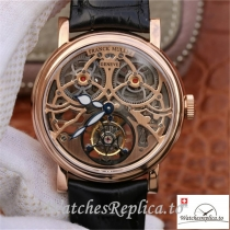 Swiss Franck Muller Giga Tourbillon Replica Black Strap 43.6 MM