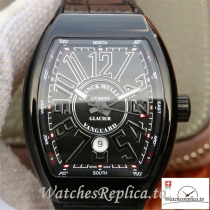 Swiss Franck Muller Vanguard Replica V45-05 Black Strap 45MM