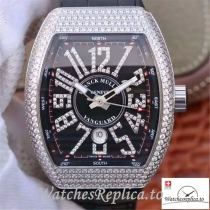Swiss Franck Muller Vanguard Replica V45.SC.DT.D.NBR.CD.5N.NR 001 Black Strap 44 MM × 54 MM