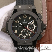 Swiss Hublot Big Bang Evolution Replica 301.CX.130.RX Black Strap 44MM