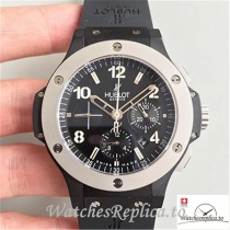 Swiss Hublot Big Bang Ice Bang Replica 301.CK.1140.RX Black Strap 44MM