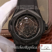 Swiss Hublot Big Bang Sang Bleu Magic Replica 415.CX.1112.VR.MXM18 Black Bezel 45MM