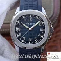 Swiss Patek Philippe Aquanaut Replica 5168G-001 Blue Strap 40MM