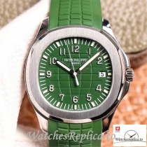 Swiss Patek Philippe Aquanaut Replica 5168G Green Strap 42MM