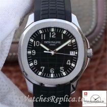 Swiss Patek Philippe Aquanaut Jumbo Replica 5167A-001 Black Strap 40MM